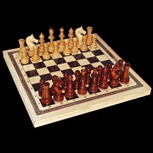 Шахматы точеные Офисные с доской (Орлов)