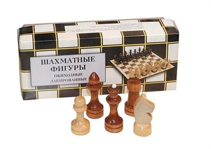 Шахматные фигуры обиходные лакированные (Орлов)