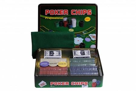 Набор для покера Holdem Light на 500 фишек без номинала
