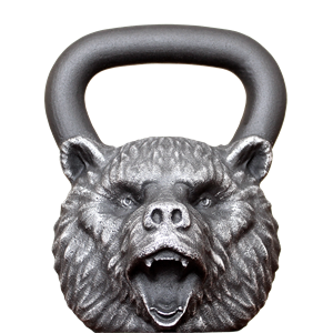 Гиря Iron Head Медведь 32 кг