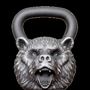 Гиря Iron Head Медведь 16 кг