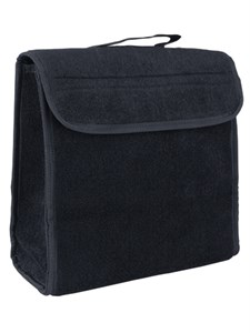 Органайзер в багажник iSky, войлочный, 30x30x15 см, черный