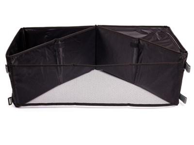 Органайзер в багажник iSky, полиэстер, 36x36x23,5 см, черный, трансформер