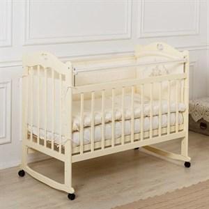 Кровать детская Incanto SOFI с сердечком (колесо, качалка, опуск.планка)