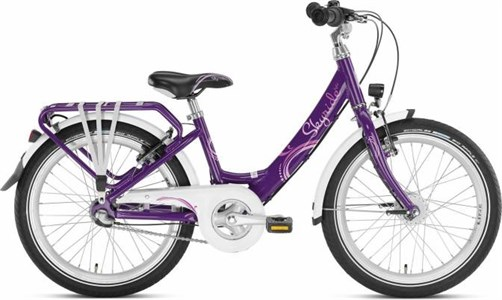 Двухколесный велосипед Puky SKYRIDE 20-3 LIGHT 4450 lilac лиловый