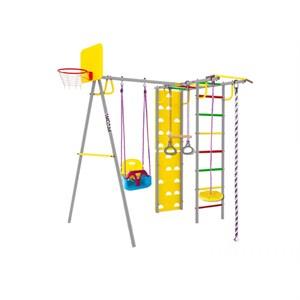 Midzumi Rainbow Small спортивно-игровой комплекс с качелями 3 в 1