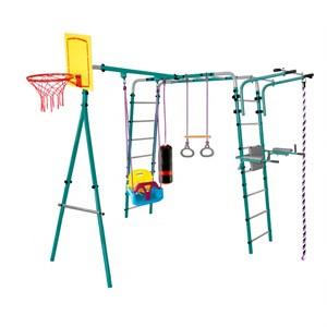 Midzumi Hanabi Small уличный детский спортивный комплекс с пластиковыми качелями 3в1