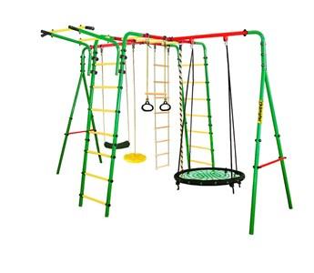 Kampfer Wunder уличный спортивный комплекс для детей + качели гнездо