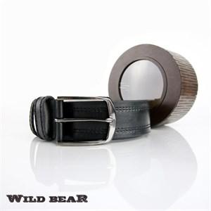 Ремень WILD BEAR RM-003f Black Premium