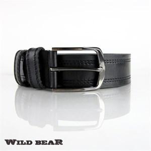 Ремень WILD BEAR RM-003m Black (универсальный)