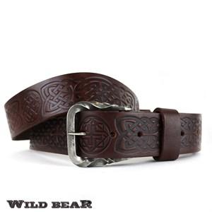 Ремень WILD BEAR RM-048f Vinous Premium
