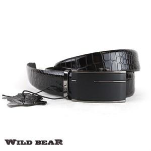 Ремень WILD BEAR RM-025f Brown Premium