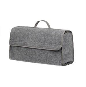 Органайзер в багажник 50x25x15 см, (серый, войлочный)