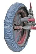 Чехлы на колеса коляски 28-30 см. (4 шт.)