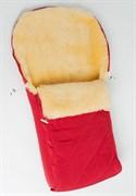 Универсальный меховой конверт в коляску Ramili Classica Rosso
