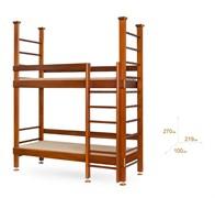 Двухъярусная кровать с шведской стенкой