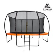 Батут DFC Trampoline Fitness KENGOO 14FT с сеткой
