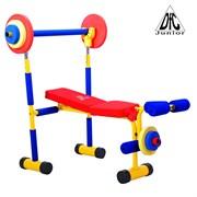 Детская скамья для жима DFC