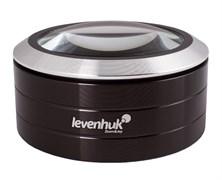 Лупа Levenhuk (Левенгук) Zeno 900, 5x, 75 мм, 3 LED, металл