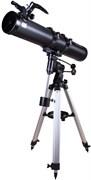 Телескоп Bresser (Брессер) Galaxia 114/900 EQ, с адаптером для смартфона