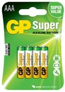 Элемент питания GP Super Alkaline GP 24A-2CR4 AAA