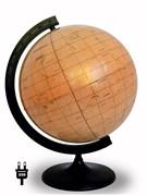 Глобус Марса диаметром 320 мм, с подсветкой