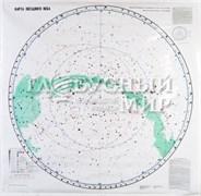 Карта ламинированная «Звездное небо» (2 листа, односторонняя ламинация)
