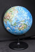 Глобус Земли для детей диаметром 210 мм