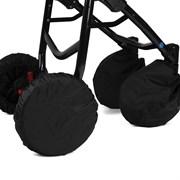 Чехлы Noordline на колеса коляски с двумя поворотными колесами