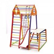 Детский спортивный комплекс BambinoWood Color Plus 1-1