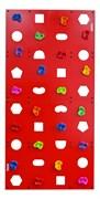 """Скалодром пристенный Формула здоровья 1000*2000 стандарт """"ЭЛЬБРУС"""" с отверстиями"""