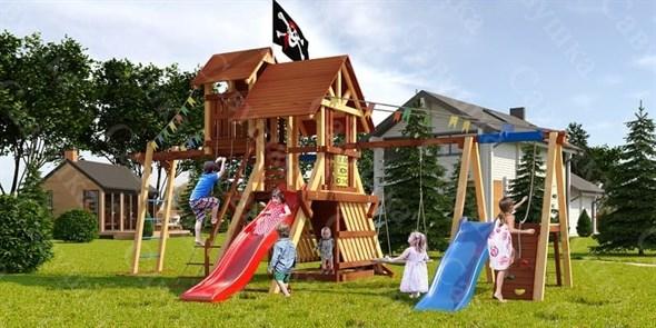 Савушка Lux 11 уличная спортивная площадка для детей