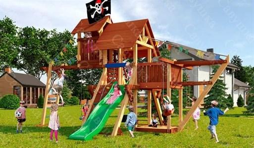 Савушка Lux 7 уличная спортивная площадка для детей