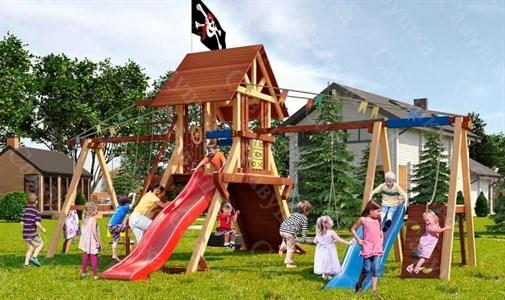 Савушка Lux 8 уличная спортивная площадка для детей
