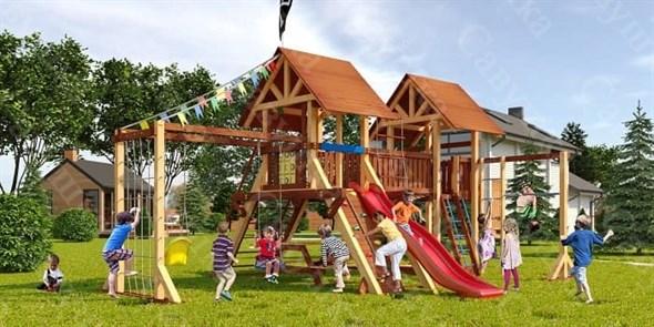 Савушка Lux 4 уличная спортивная площадка для детей