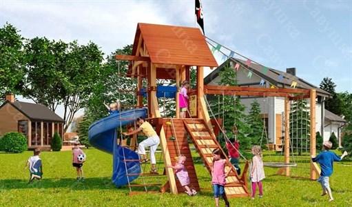 Савушка Lux 5 уличная спортивная площадка для детей