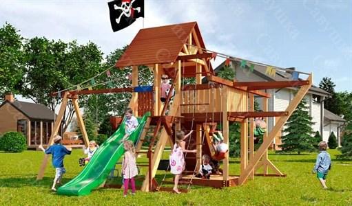 Савушка Lux 6 уличная спортивная площадка для детей