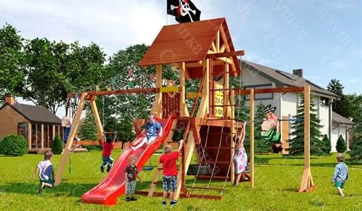 Савушка Lux 3 уличная спортивная площадка для детей