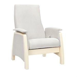 Milli Sky комфортное кресло для кормления, Дуб шампань, ткань Verona Light Grey