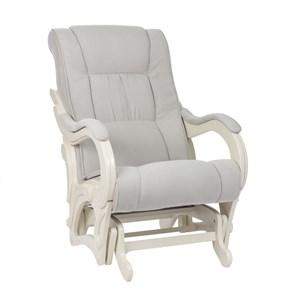 Кресло для кормления Milli Style, Дуб шампань, ткань Verona Light Grey